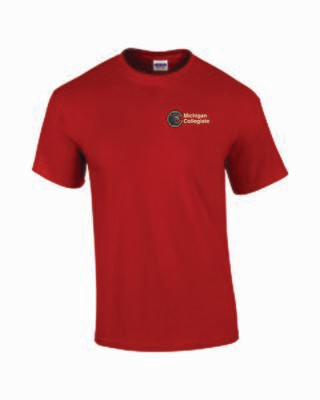 Michigan Collegiate Gym T-Shirt