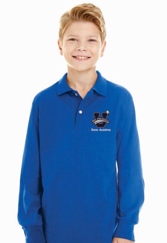Dove Academy Long Sleeve Polo
