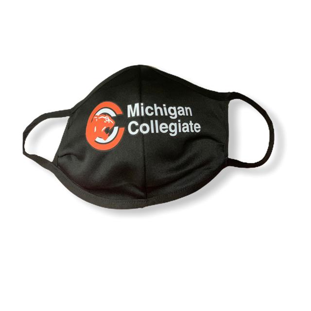 Michigan Collegiate Face Mask