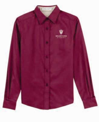 Bradford Academy Ladies Long Sleeve Blouse