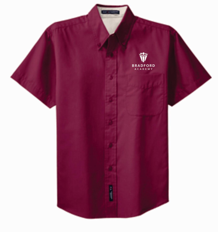 Bradford Academy Young Men Short Sleeve Shirt