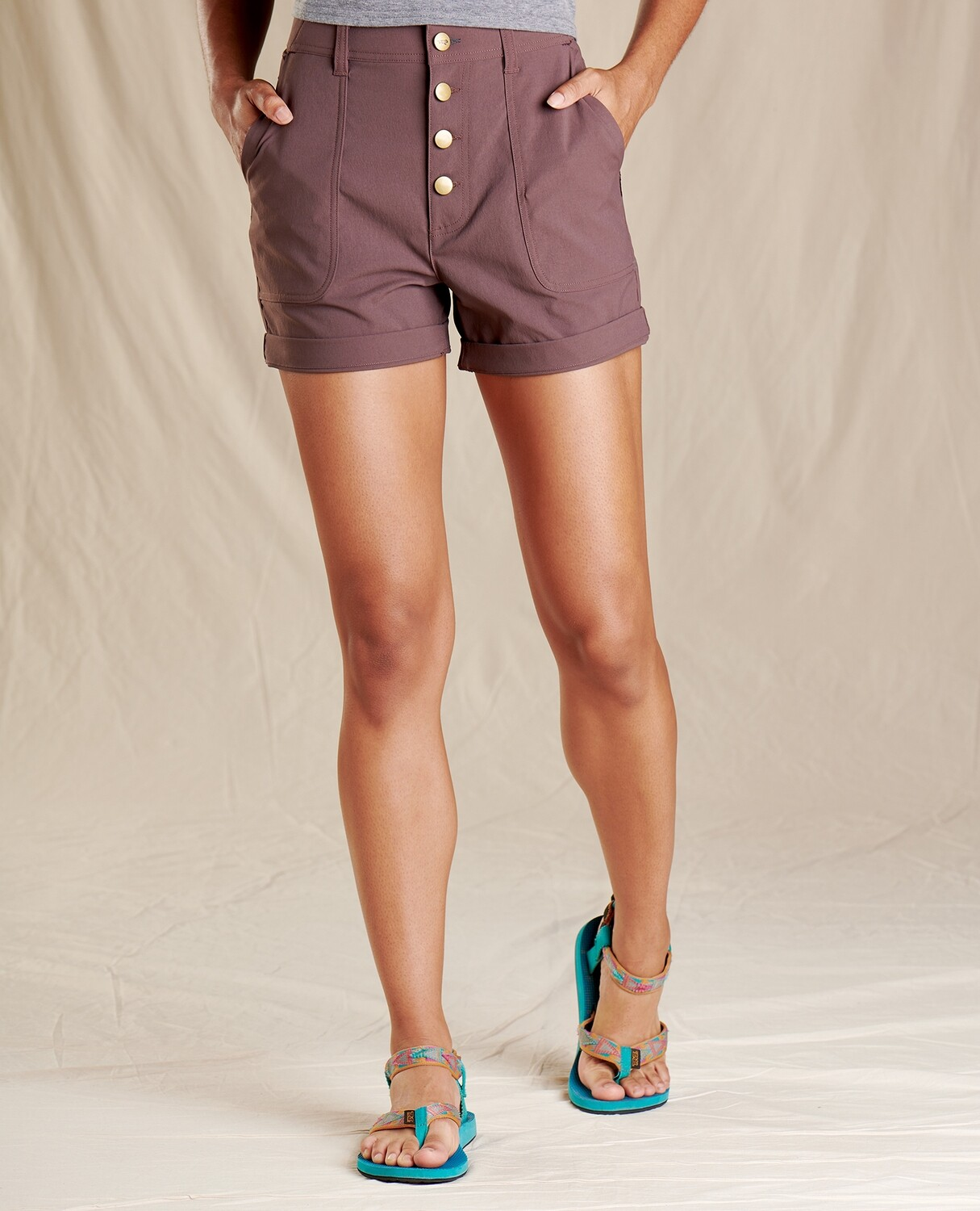 Toad&Co rover high rise short