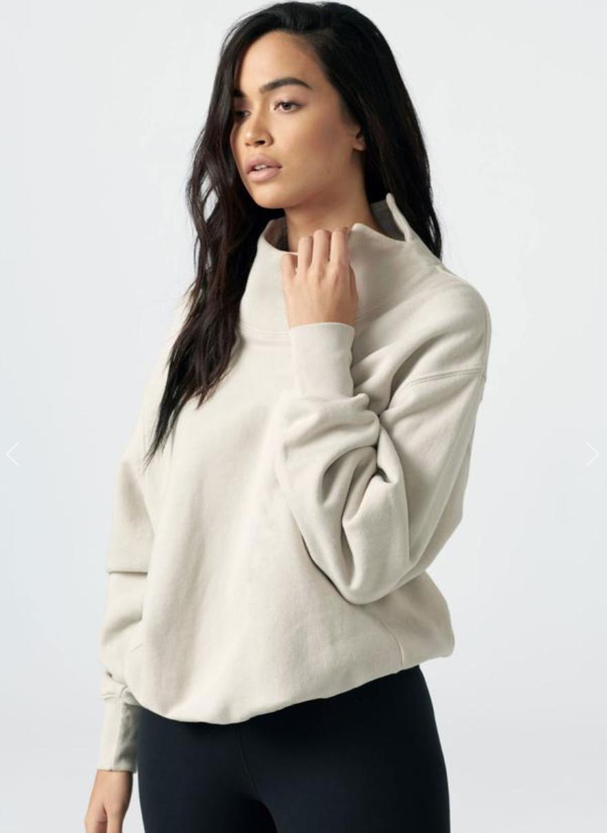 Joah Brown oversized turtleneck sweatshirt