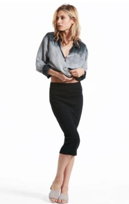 Hard Tail Midi Pencil Skirt Black ALL
