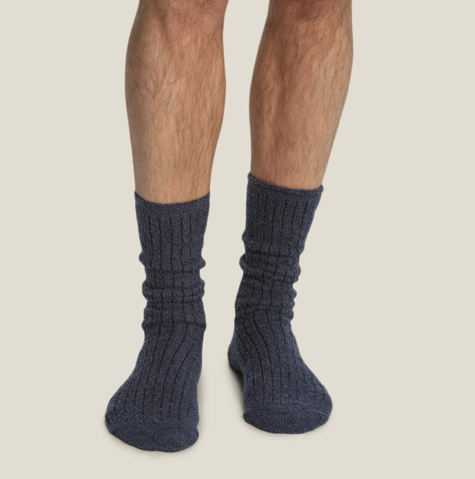 Barefoot Dreams CC M's Ribbed Socks