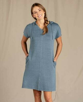 Toad&Co W's Epiq hooded SS Dress