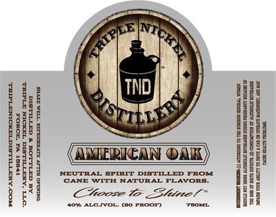 American Oak- 750ml