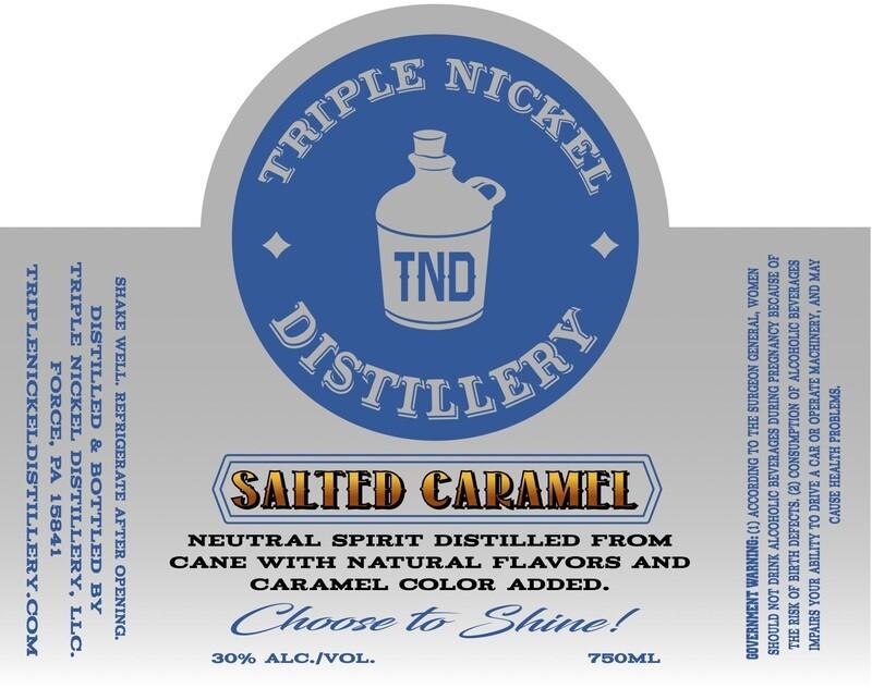Salted Caramel- 750ml