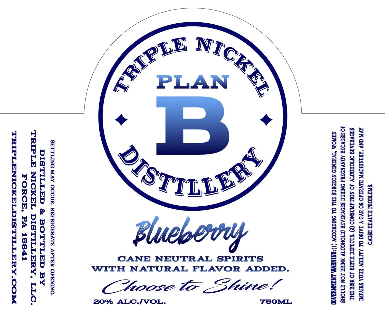 Blueberry- 750ml