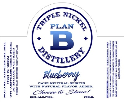 Blueberry- 750ml