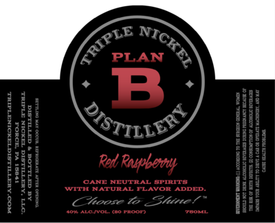 Red Raspberry 80 Proof- 750ml