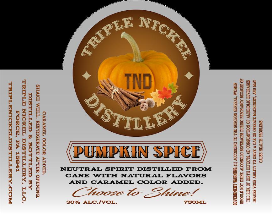 Pumpkin Spice- 750ml