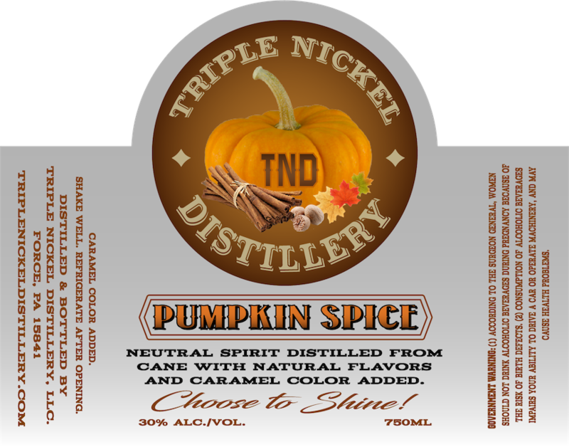 Pumpkin Spice- 750ml