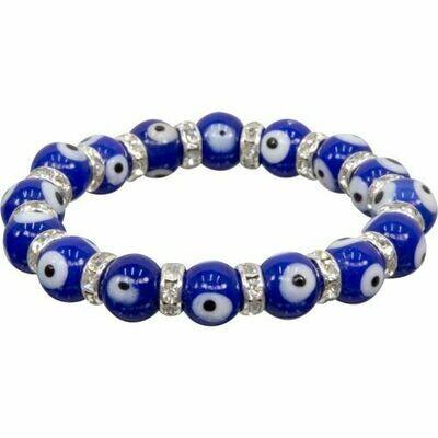 Evil Eye Cobalt Bracelet