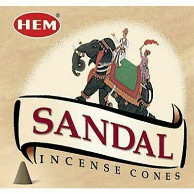 Hem cone Incense Sandal