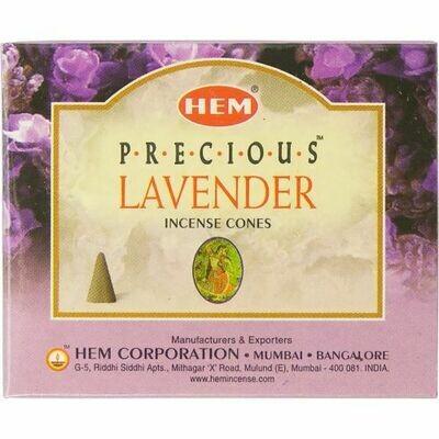Hem cone Incense Lavender