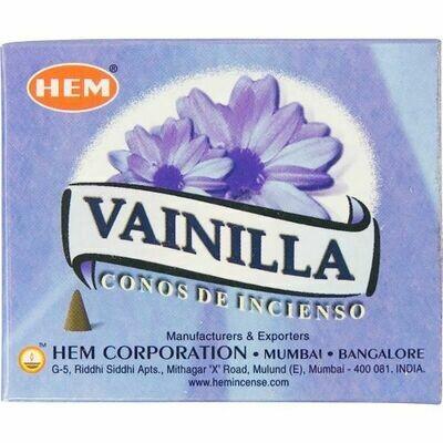 Hem cone incense vanilla