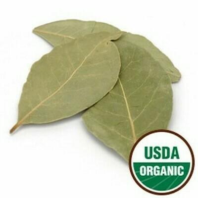 Bay Leaf Organic whole 1 oz