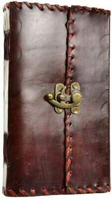 1842 Poetry journal w/ latch