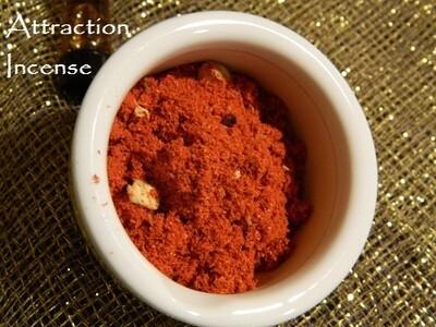 Attraction Incense 1/2 oz