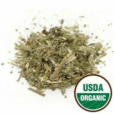 Blessed Thistle Leaf c/s organic 1 oz