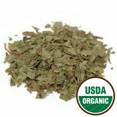 Blueberry Leaf c/s organic 1 oz