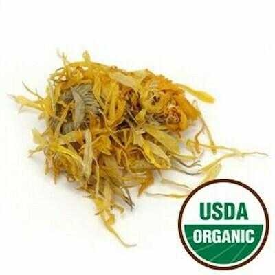 Calendula Flower, Organic, whole 1 oz