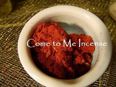 Come to Me Incense 1/2 oz