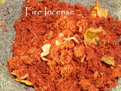 Fire Incense 1/2 oz