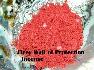 Fiery Wall of Protection Incense 1/2 oz