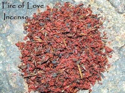 Fire of Love Incense 1/2 oz