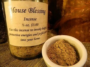 House Blessing Incense 1/2 oz