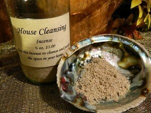 House Cleansing Incense 1/2 oz