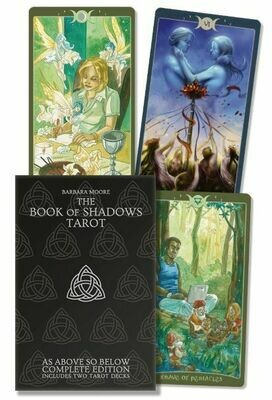 Book of Shadows tarot kit (2 decks)