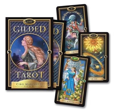 Gilded tarot kit