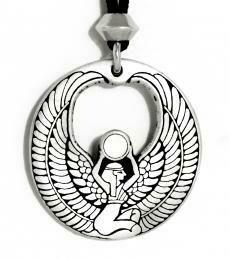Isis pendant - pewter