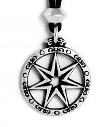 Fairy Star (7 point) - pewter
