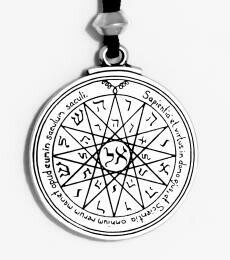 Mercury talisman - pewter