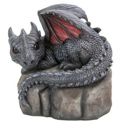 Garden Dragon on stone