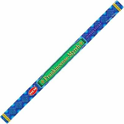 Hem Incense - Frankincense + myrrh 8 stick