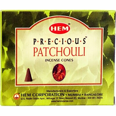 Hem cone Incense patchouli