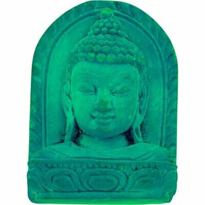 Buddha Bust Turquoise Figure