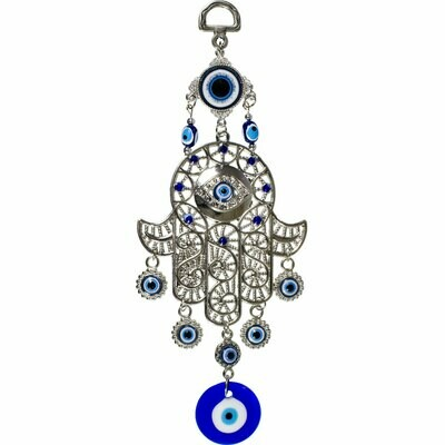 Evil Eye Filigree Fatima Hand