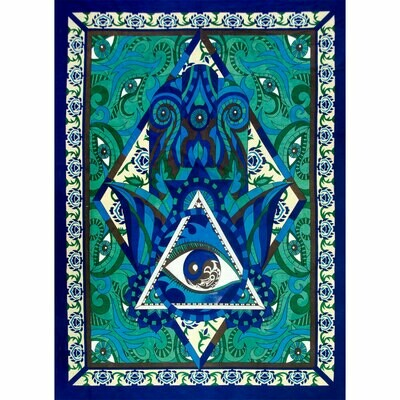 Fatima Hand Tapestry