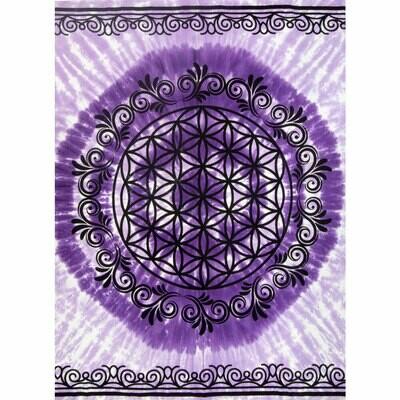 Flower of Life Tapestry