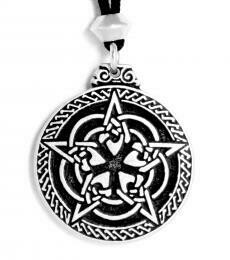 Celtic pentacle - pewter