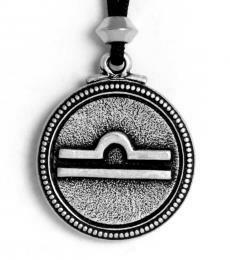 Libra pendant - pewter