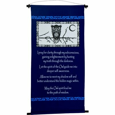 Owl Prayer Banner