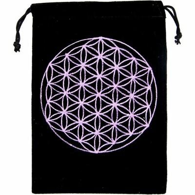 Velvet Bag Flower of Life