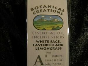 Botanical Creations White sage, lavender + Lemongrass